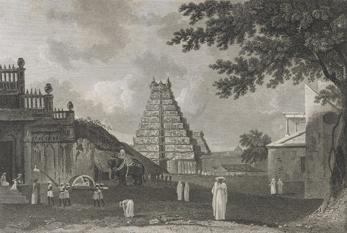 A view of the Great Pagoda at Tangore [Thanjavur]